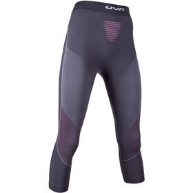 UYN Visyon UW Spodnie warstwa średnia Kobiety, charcoal/raspberry/white